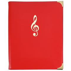 Rolf Handschuch Music Folder Classic Red