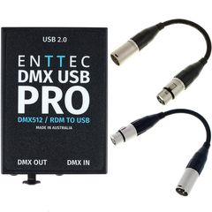 Enttec DMX USB Pro Interface Bundle