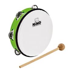 """Nino 8"""" ABS Tamburine Green"""