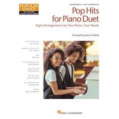 Hal Leonard Pop Hits for Piano Duet