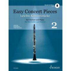 Schott Easy Concert Pieces Clarinet 2