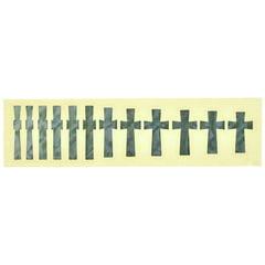 Jockomo Iommi Cross Sticker