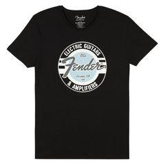 Fender T-Shirt Guitar & Amp. XXL