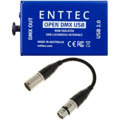 Enttec Open DMX USB Interface Bundle