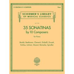 G. Schirmer 35 Sonatinas for Piano