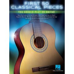 Hal Leonard First 50 Classical Piece Guit.
