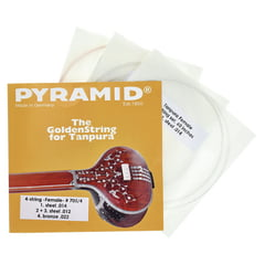Pyramid 705/4 Tanpura Strings Ladies