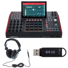 Akai MPC X Headphone Bundle