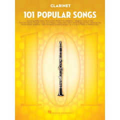 Hal Leonard 101 Popular Songs Clarinet