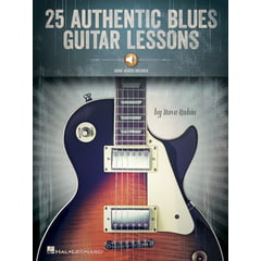 Hal Leonard 25 Authentic Blues Guitar