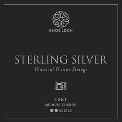 Knobloch Strings Pure Sterling Silver Carbon300