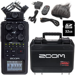 Zoom H6 SKB Bundle