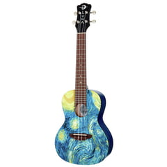 Luna Guitars Uke Starry Night Concert