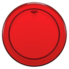 "Remo 22"" P3 Colortone Batter Red"