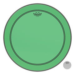 "Remo 24"" P3 Colortone Batter Green"