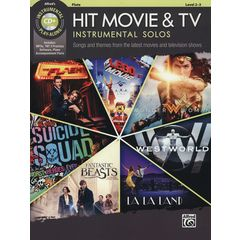 Alfred Music Publishing Hit Movie & TV Solos Flute