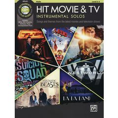 Alfred Music Publishing Hit Movie & TV Solos Violin