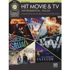Alfred Music Publishing Hit Movie & TV Solos T-Sax