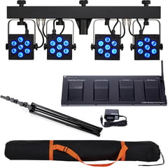 Stairville CLB5 RGBW Compact LED B Bundle