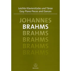 Bärenreiter Brahms Easy Piano Pieces