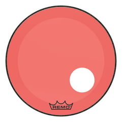 "Remo 24"" P3 Colortone Reso Red"