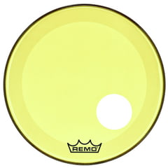 "Remo 22"" P3 Colortone Reso Yellow"