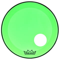 "Remo 22"" P3 Colortone Reso Green"