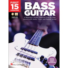 Hal Leonard 15 Lessons: Bass Guitar