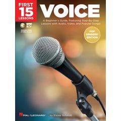 Hal Leonard 15 Lessons: Voice Pop Singers