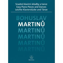 Bärenreiter Martinu Easy Piano Pieces