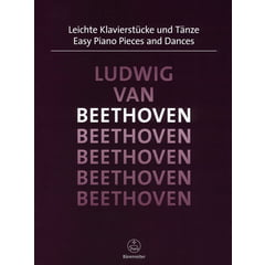 Bärenreiter Beethoven Easy Piano Pieces