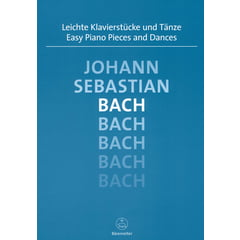 Bärenreiter Bach Easy Piano Pieces