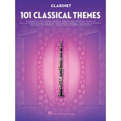 Hal Leonard 101 Classical Themes Clarinet