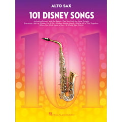Hal Leonard 101 Disney Songs Alto Sax