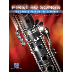 Hal Leonard 50 Songs You Should Clarinet
