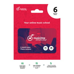 music2me Piano Subscription 6 Months