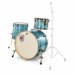 SJC Drums Custom Rock Set Turquoise