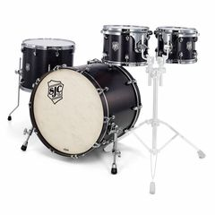 SJC Drums Custom Stage Set Satin Black