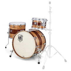 SJC Drums Custom 3-piece Wormy Maple