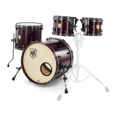 SJC Drums Custom 4-piece Merlot Pearl