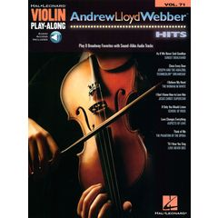 Hal Leonard Violin Play-Along A.L. Webber