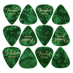 Fender Green Moto Pick Medium