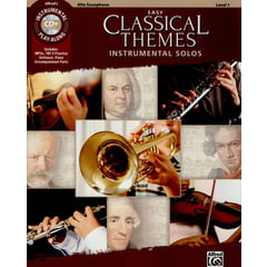 Alfred Music Publishing Easy Classical Themes Altsax.