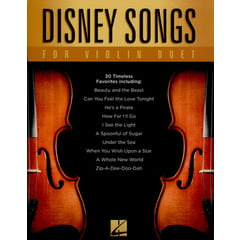 Hal Leonard Disney Songs For Violin Duet