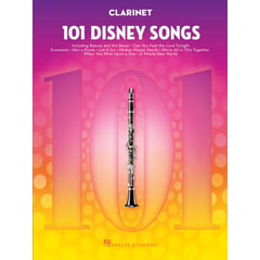 Hal Leonard 101 Disney Songs Clarinet