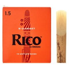 DAddario Woodwinds Rico Bb- Clarinet 1,5 Boehm