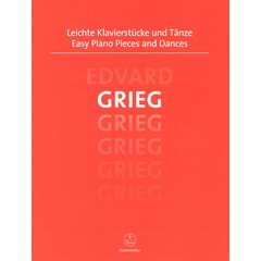 Bärenreiter Grieg Easy Piano Pieces