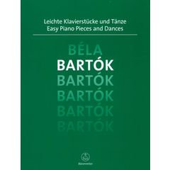 Bärenreiter Bartók Easy Piano Pieces