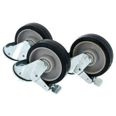 Manfrotto 374 Wheel Set Ø160 with Brake