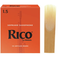 DAddario Woodwinds Rico Soprano Sax 1,5